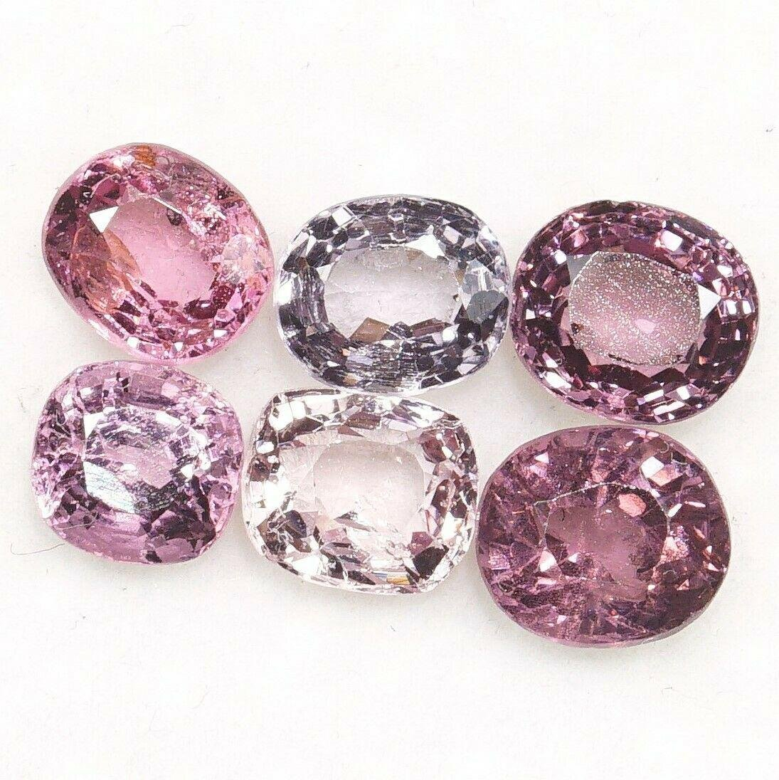 Natural Multi Spinel Mixed Shape 3.28 Cts Burma Lot of