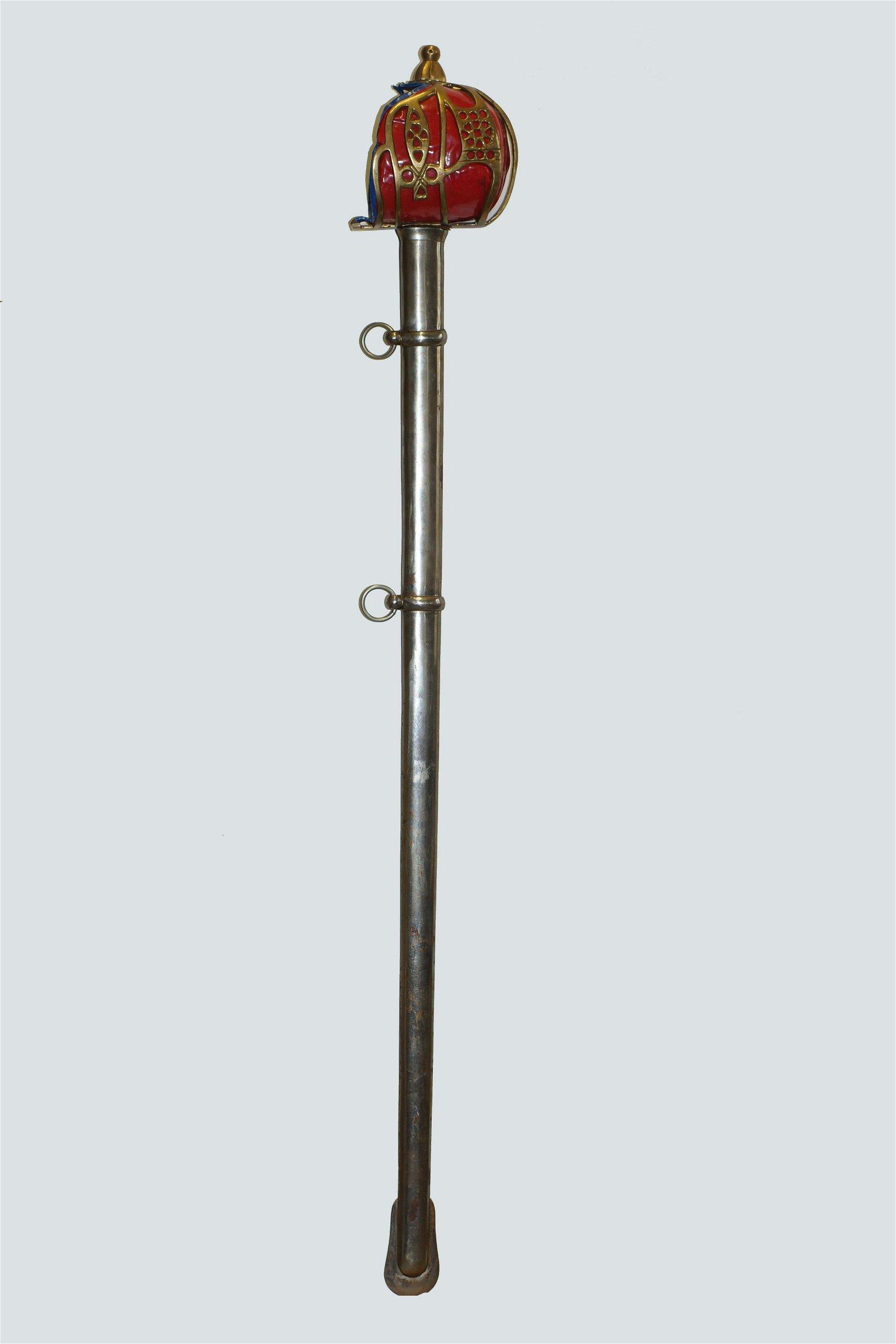 Antique Scottish Basket Hilt Sword