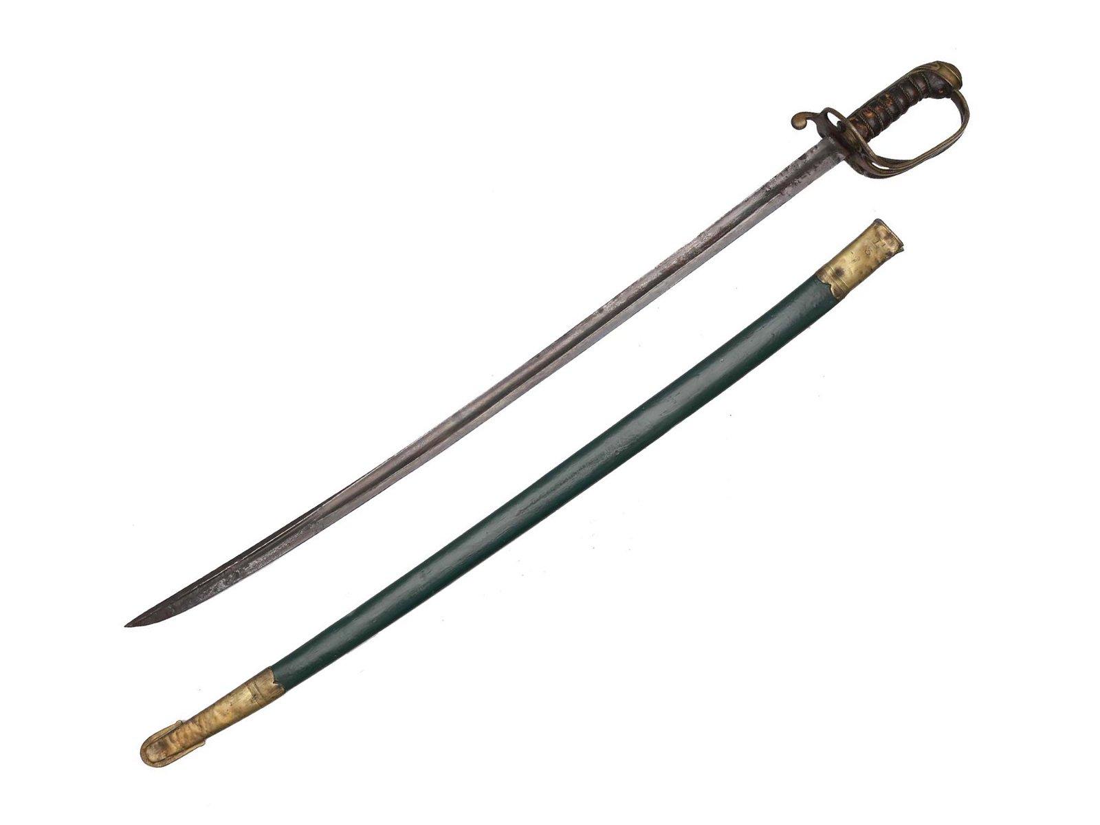 A SCARCE BRITISH WILLIAM IV 1822 PATTERN SWORD
