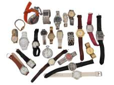 A LOT OF 25 VINTAGE ASSORTED WRIST WATCHES