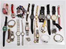 A LOT OF 26 VINTAGE ASSORTED WRIST WATCHES