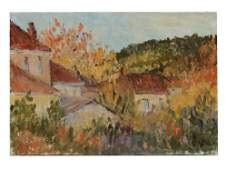 A FRENCH OIL PAINTING BY LOUIS VALTAT