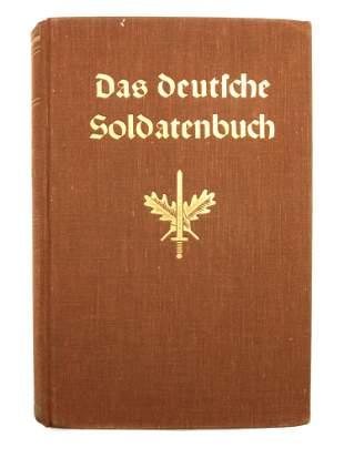 A WWII GERMAN THIRD REICH HITLER EX LIBRIS BOOK