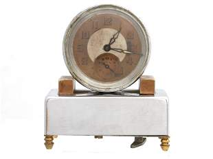 A FRENCH IMPERIAL JACCARD MUSIC ALARM CLOCK
