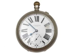 AN ANTIQUE RUSSIAN IMPERIAL POCKET WATCH