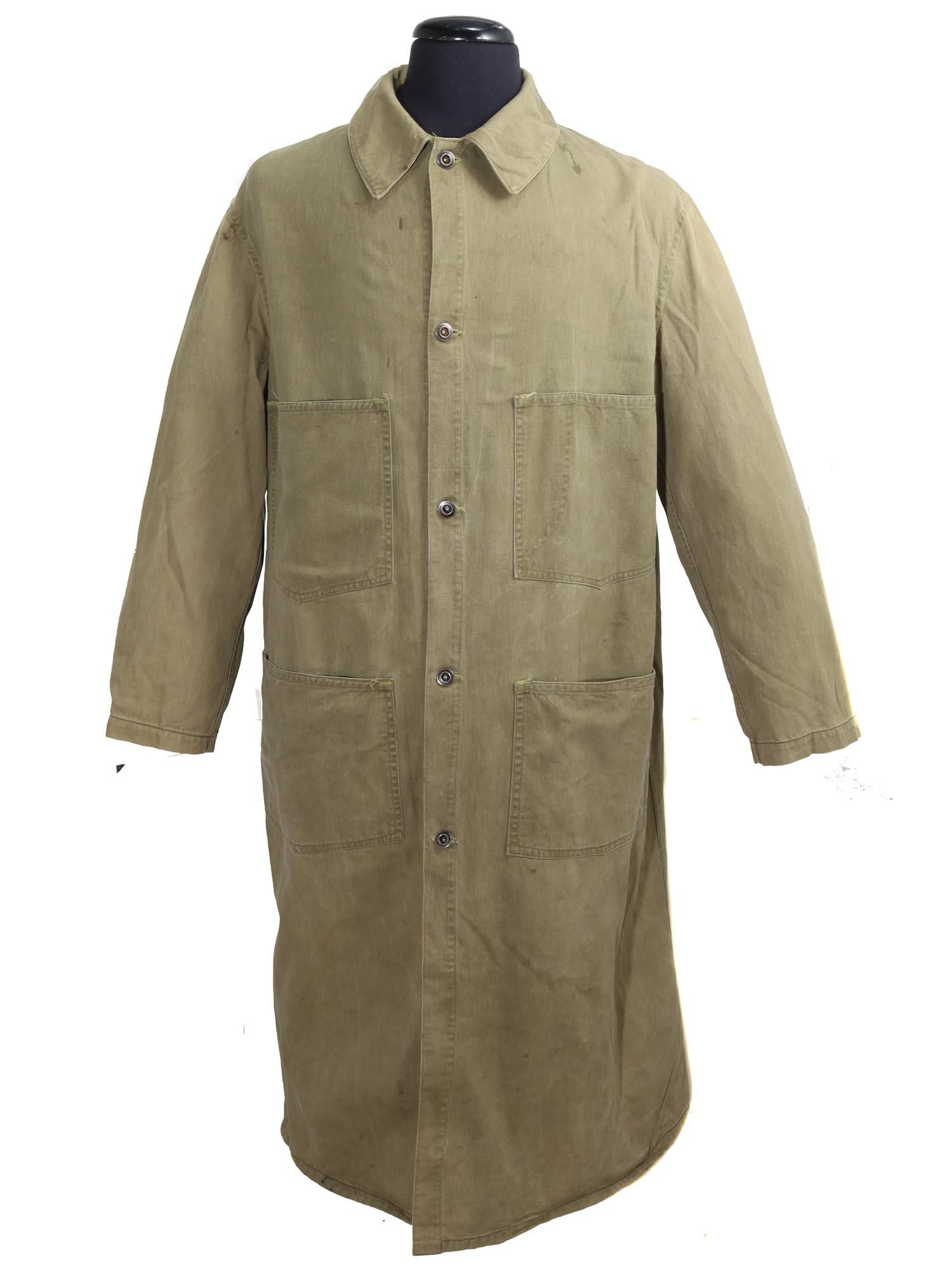 A WWII US MILITARY ARMY UNIFORMS SUEDE COAT