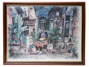 AMERICAN COLOR LITHOGRAPH SONG BY TOMMY THOMPSON