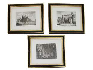 ITALIAN SET ETCHINGS PAINTINGS BY DOMENICO AMICI