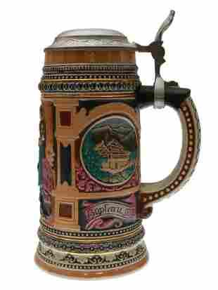 A VINTAGE GERMAN BEER STEIN
