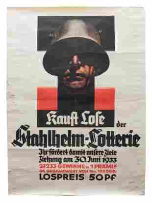 AN ORIGINAL VINTAGE GERMAN POSTER