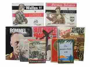 A LOT OF 9 BOOKS ABOUT WWII PERIOD GERMANY