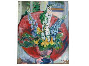 A CHARLES CAMOIN FRENCH FAUVIST OIL PAINTING