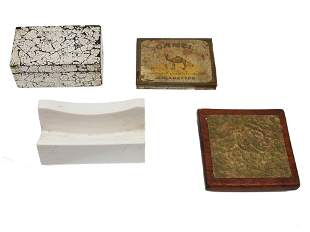 A LOT OF FOUR VARIOUS VINTAGE ITEMS