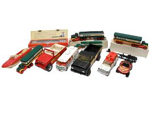 A LOT OF TEN VINTAGE TOY CARS