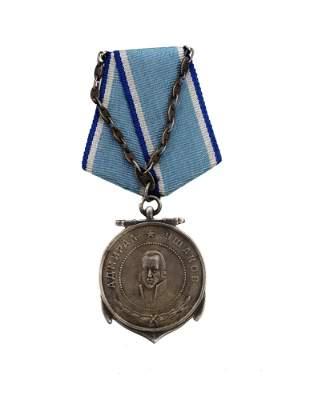 A VERY RARE SOVIET WWII MEDAL OF USHAKOV AWARD