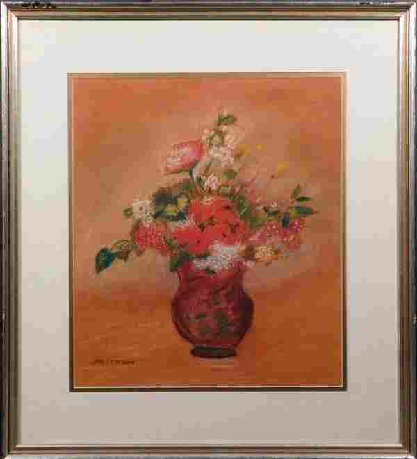 Jane Peterson: Pastel Floral Still Life
