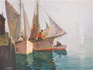 Anthony Thieme: Out of the Fog