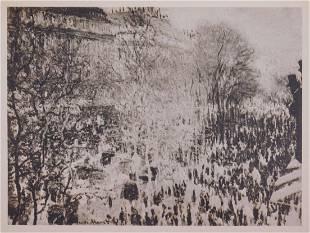 Claude Monet : Le Boulevard des Capucines au Carnaval
