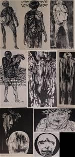 Leonard Baskin: Ten Woodcuts