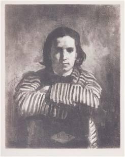 Gilbert Alexandre de Severac: Portrait of Claude Monet