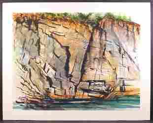 Howard Besnia: Rocky Maine Cliff
