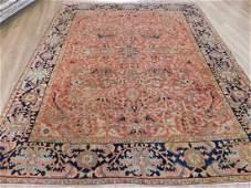 Antique Heriz Carpet 9.2 x 11.5