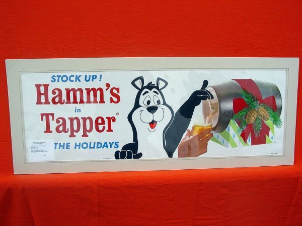 1: Hamm's POS and Tavern Window Banners