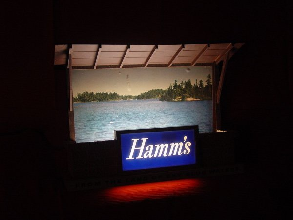12: Hamm's Lighted Sign