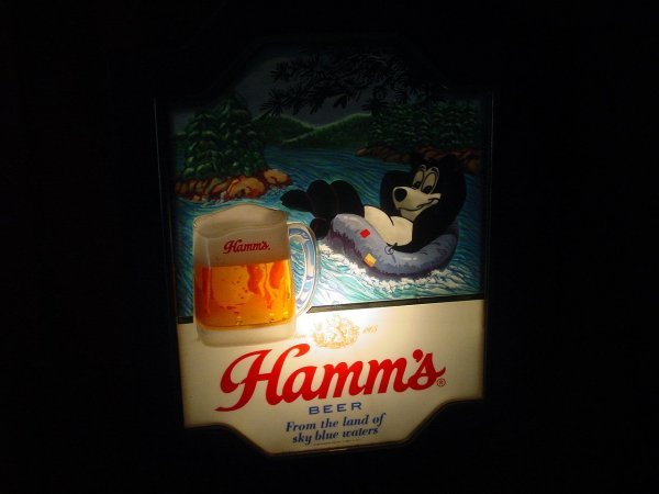 24: Hamm's Lighted Sign