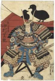 Kunisada I Utagawa, Kabuki, Actor Nakamura Shikan in