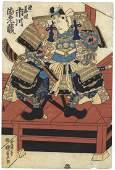 Kunisada I Utagawa, Kabuki, Actor Ichikawa Ebizo in