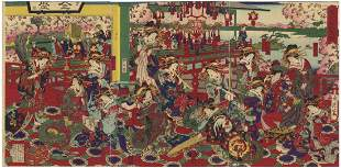 Chikanobu Yoshu, Beauties, Selection of Modern