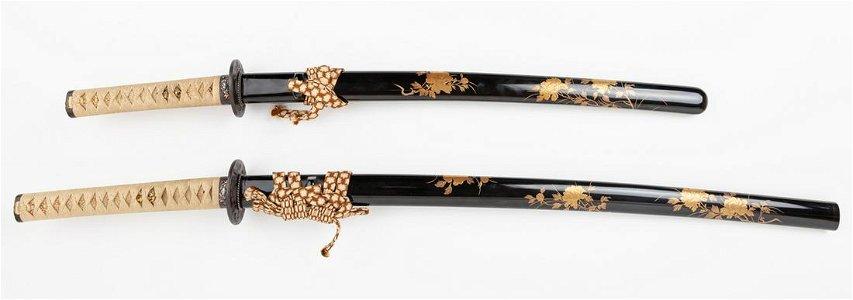 Japanese Pair of Sword, Daisho