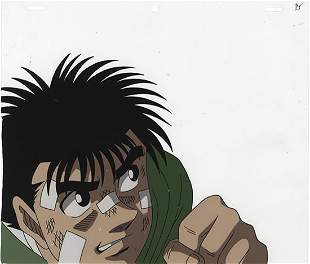 Hajime no Ippo Ippo Makunouchi Cel Sketch