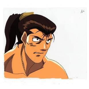 Hajime no Ippo Takuma Saeki Cel Sketch