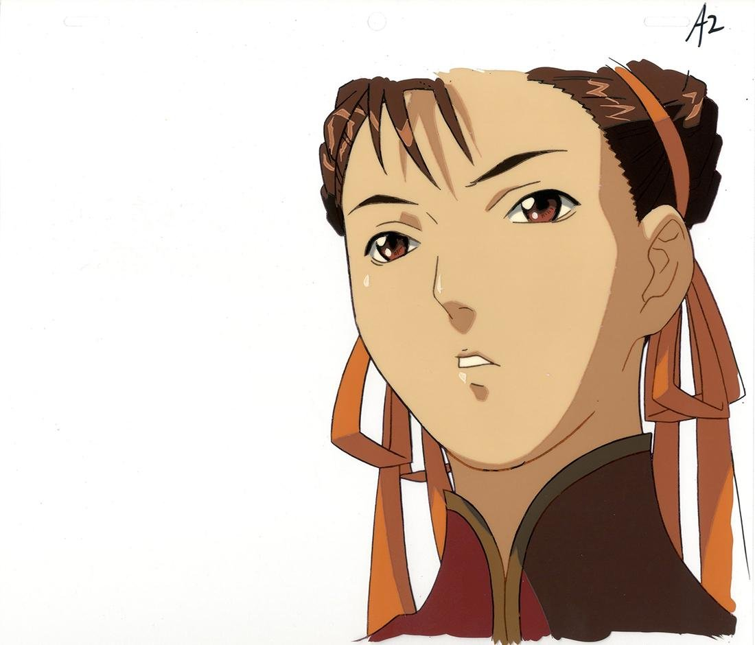 Street Fighter Alpha: The Animation, Chun-Li, Cel