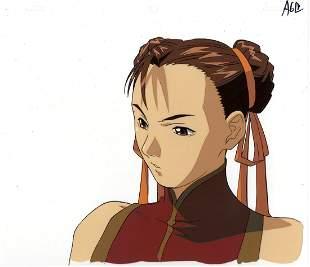 Street Fighter Alpha The Animation ChunLi Cel