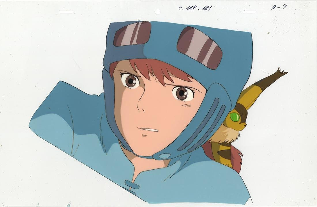 Nausicaä of the Valley of the Wind, Nausicaä, Cel