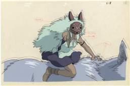 Princess Mononoke, San, Moro (Maro), Cel