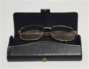 Tiffany Gold Plated Platinum Glasses