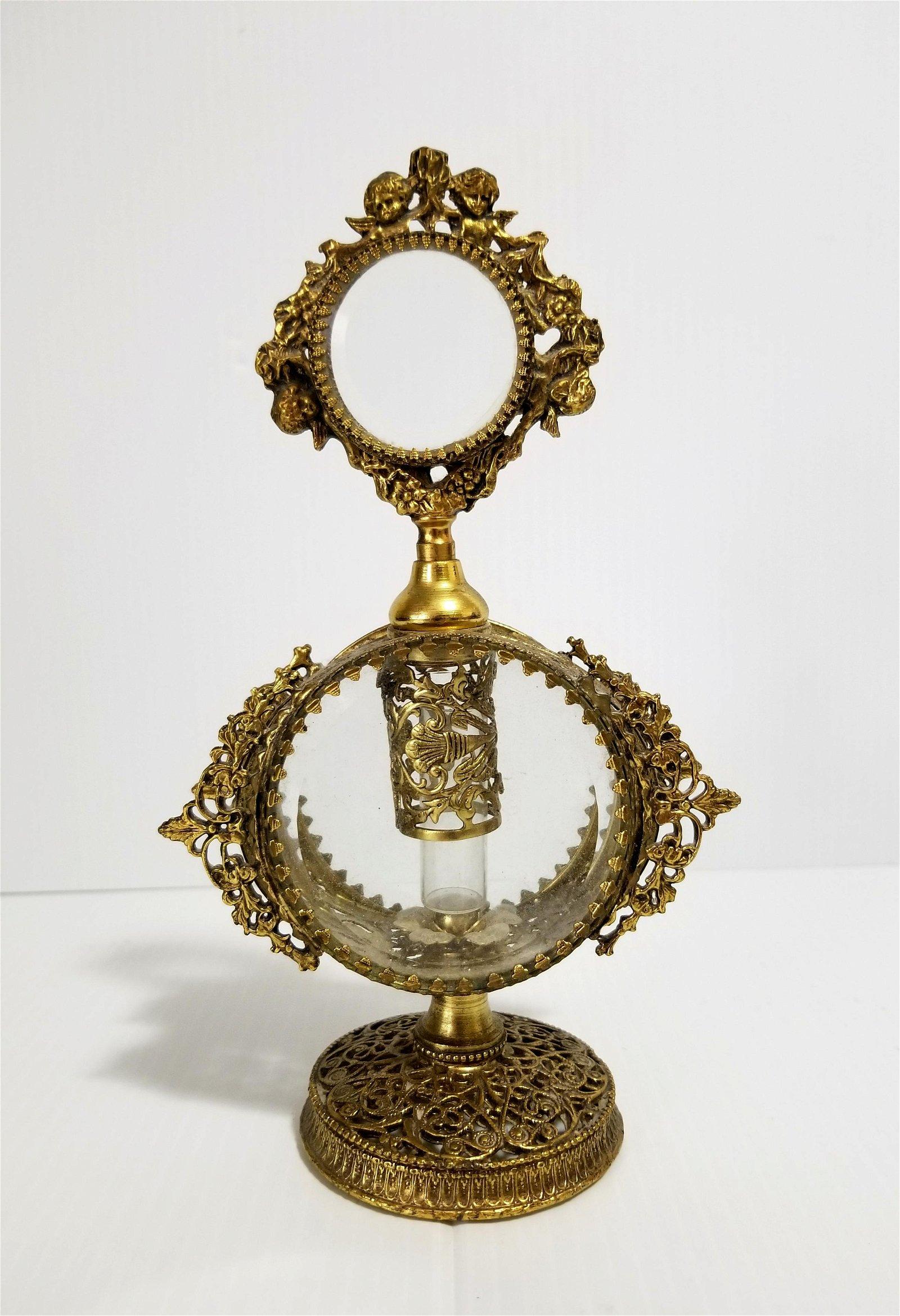 Nice 24 KT Gold Cherubs Perfume Bottle