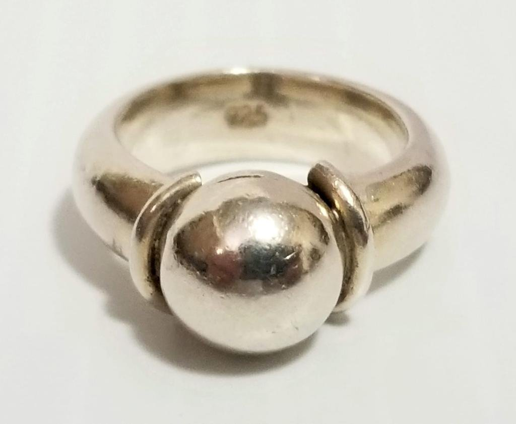 Art Deco 925 Sterling Silver Ring