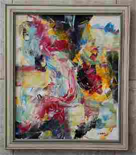 Marcelle Ferron 1995 Oil Canvas