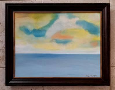 Hyde Solomon American Oil Canvas 1911-1982