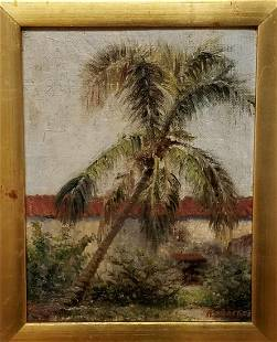Albert Ernest Beanie Backus Oil Canvas