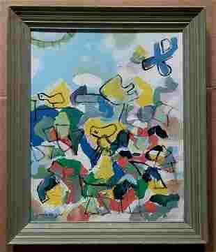 Robert Arthur Goodnough Acrylic Canvas