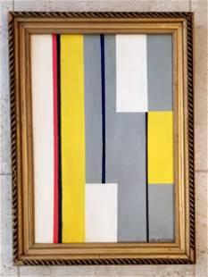 Ilya Bolotowsky Acrylic on Canvas