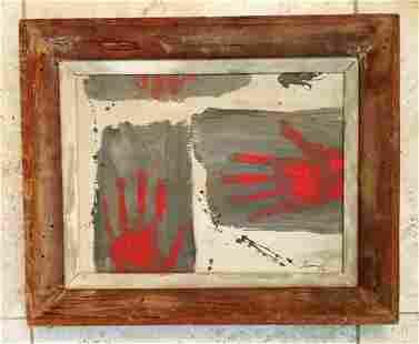 Rufino Tamayo 1981 Oil Canvas