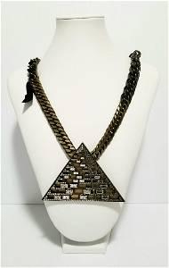 Beautiful Lavin Luxor Pyramid Necklace