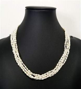 Beautiful 14KT Fresh Water Pearl Necklace